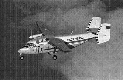 Многоцелевой грузо-пассажирский самолет ан-28.