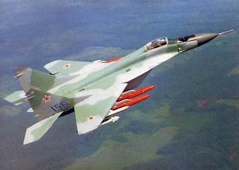 Многоцелевой истребитель-бомбардировщик миг-29м («9-15», миг-33).