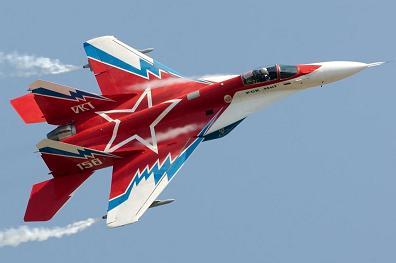 Многоцелевой истребитель-бомбардировщик миг-29овт.