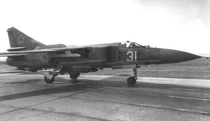 Многоцелевой истребитель миг-23млд.