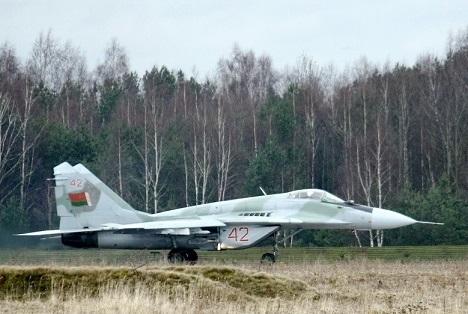 Многоцелевой истребитель миг-29бм (9-11).
