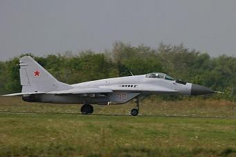 Многоцелевой истребитель миг-29с.