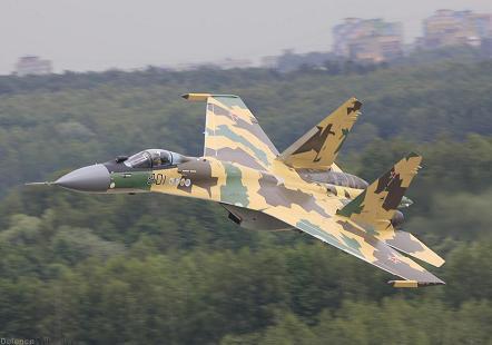Многоцелевой истребитель су-35с (бм).