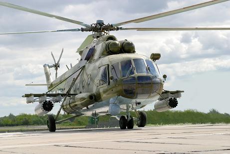 Многоцелевой круглосуточный транспортно-боевой вертолет ми-8мтко.