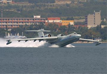 Многоцелевой самолет-амфибия а-40 «альбатрос».