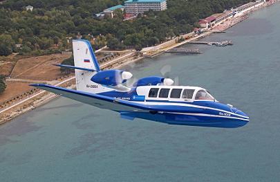 Многоцелевой самолет-амфибия бе-103.