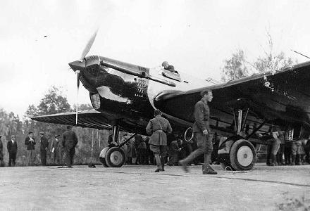 Многоцелевой самолет для дальних перелетов ант-25 (рд).