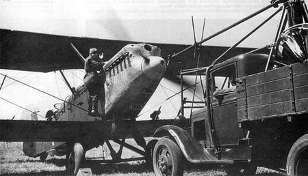 Многоцелевой самолет-разведчик р-5.