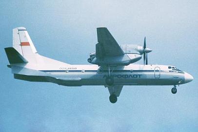 Многоцелевой транспортный самолет ан-32.