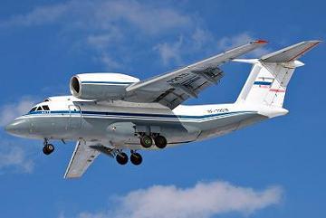 Многоцелевой транспортный самолет ан-72.