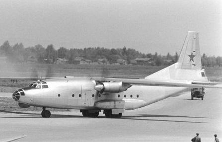 Многоцелевой транспортный самолет ан-8.