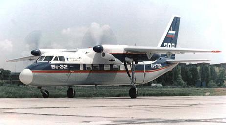 Многоцелевой транспортный самолет бе-32 (1993).