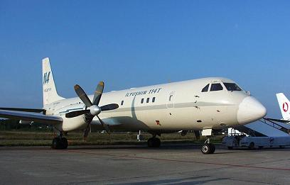 Многоцелевой транспортный самолет ил-114т.