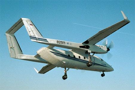 Многоцелевой транспортный самолет с-80.