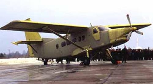 Многоцелевой транспортный самолет т-101 «грач».