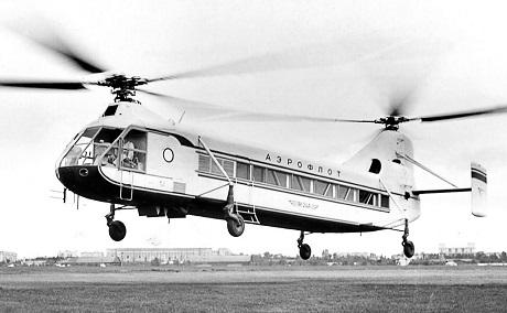 Многоцелевой транспортный вертолет як-24.