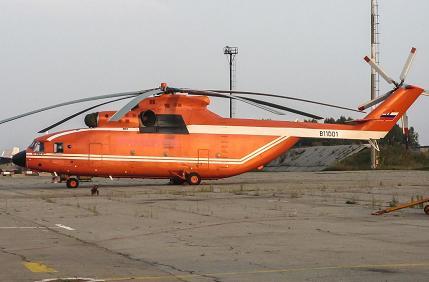 Многоцелевой транспортный вертолет ми-26тс.
