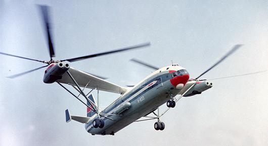 Многоцелевой транспортный вертолет в-12 (ми-12).