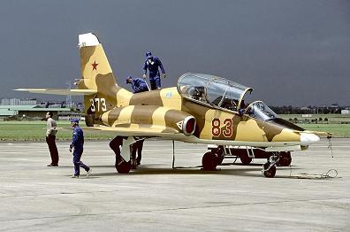 Многоцелевой учебно-боевой самолет миг-ат.