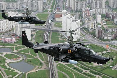 Многоцелевой ударный вертолет ка-50 «черная акула».