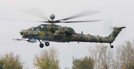 Многоцелевой ударный вертолет ми-28нм.