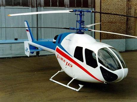 Многоцелевой вертолет ка-115.