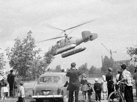 Многоцелевой вертолет ка-15м.