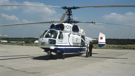 Многоцелевой вертолет ка-32.
