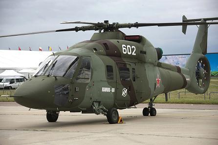 Многоцелевой вертолет ка-60 «касатка».