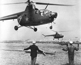 Многоцелевой вертолет ми-1.