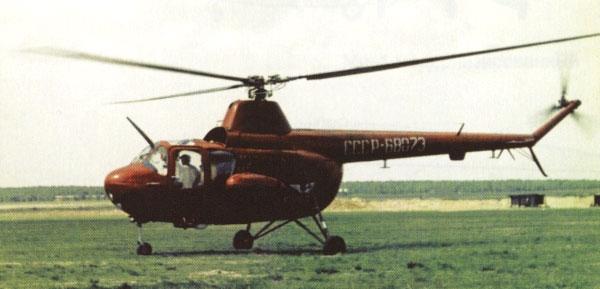 Многоцелевой вертолет ми-1т/ту («трехсотчасовой»).