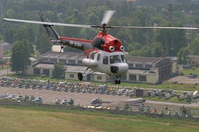 Многоцелевой вертолет ми-2.