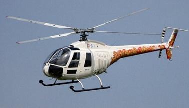 Многоцелевой вертолет ми-34.