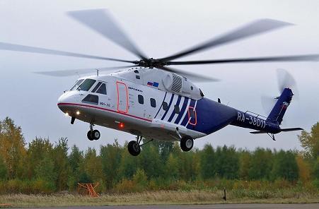 Многоцелевой вертолет ми-38.