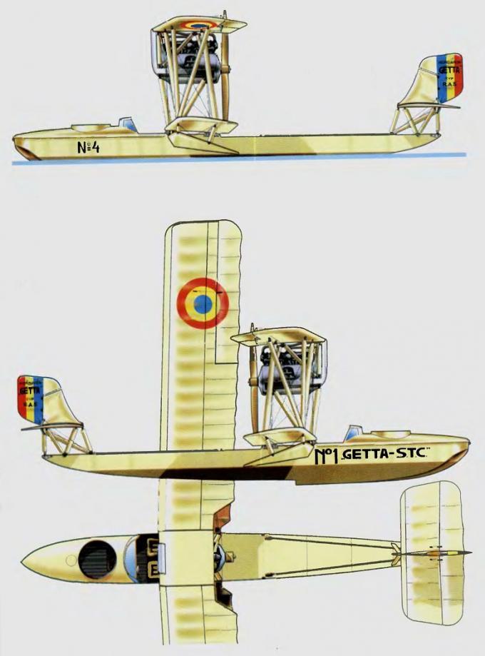 Многоцелевые летающие лодки ras getta. румыния