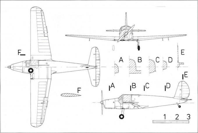 Многоцелевые тренировочные самолеты arado ar 79. германия