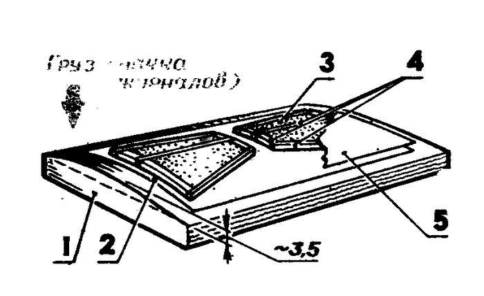 Модель планера класса а1