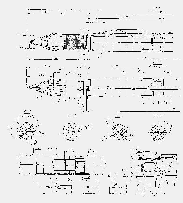 Модель ракеты категории s7 – копия геофизической ракеты р-5в