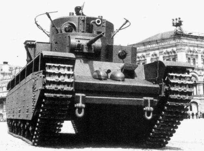 Модернизация т-35а. вариант 2