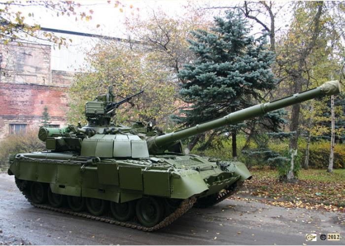 Модернизация танка т-80