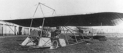 Моноплан пишофа (pischoff autoplane).