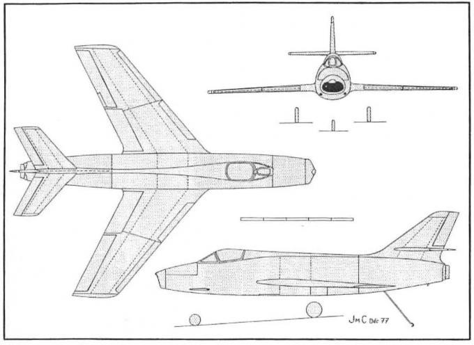 Морские загадки марселя дассо. часть 2. проекты дневных палубных истребителей mystere iv m с крылом площадью 32 м? и 35 м?