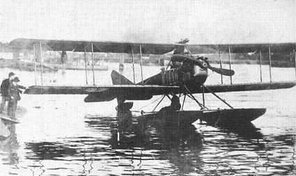 Морской самолет-разведчик лм-1 (лебедь морской № 1).