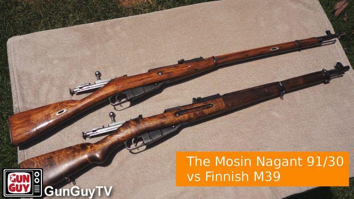 Мосин vs nagant