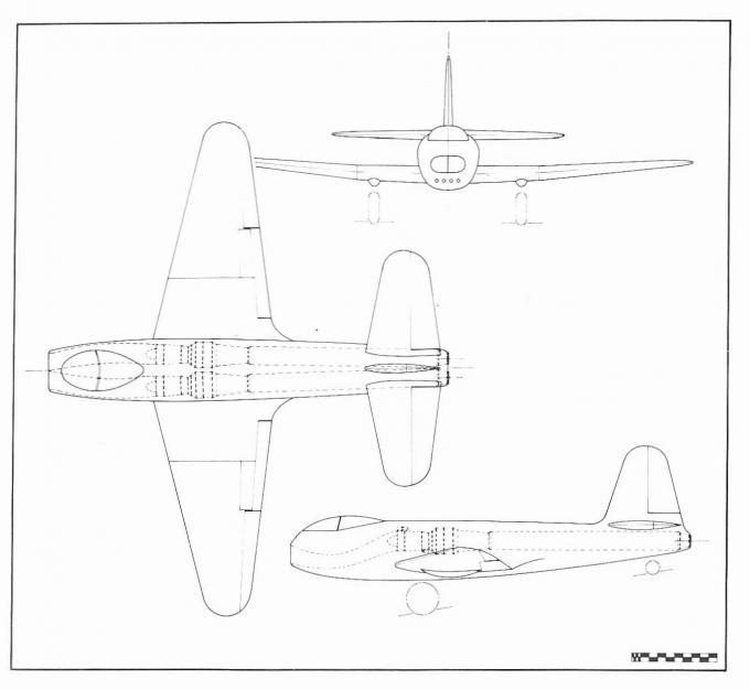 На смену mosquito. первые британские реактивные бомбардировщики 1944-1951 годов часть 1