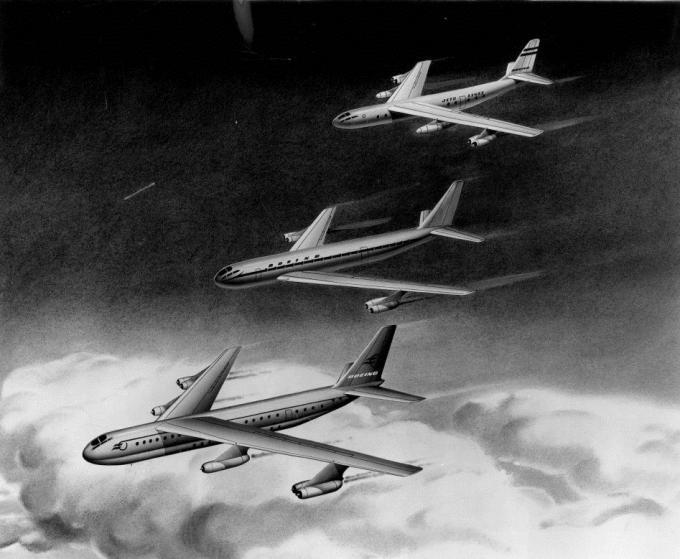 На советском пути. проекты пассажирского лайнера boeing model 473