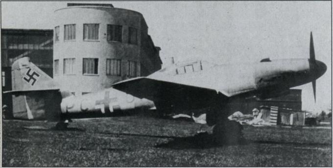 Начало эры реактивных боевых самолетов. первый полет прототипа me 262 v-3