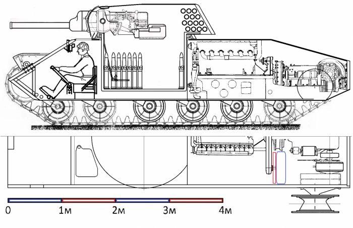 Начать войну на старой технике. т-34 и т-34м из танка т-28.