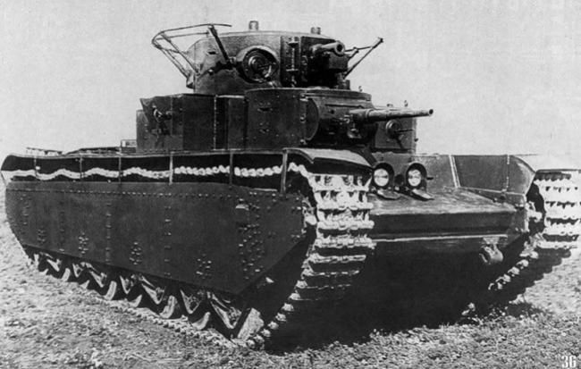 Не очень альтернативный тяжёлый танк ркка