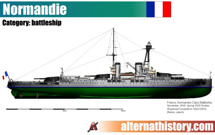 Несостоявшиеся сверхдредноуты. французские линкоры типа «нормандия»